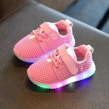 Children's light shoes 2017 Spring breathable sport soft bottom baby boys shoes kids running coconut fashion girls sneakers 018d
