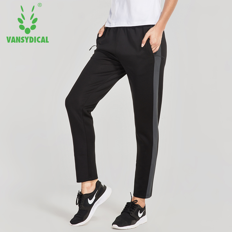 Vansydical New Womens Essentials Polyester Jogger Sport Fitness Training Running Pants Womens Sports