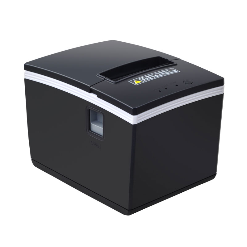 цена 260mm/s 80mm auto cutter thermal receipt printer pos printer with USB+Ethernet+Serial prot Hotel/Kitchen/Restaurant/Retail