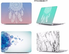 Fashion Laptop Protective Hard Shell Case Keyboard Cover Skin Set For 11 12 13 15Apple Macbook Air Pro Retina Touch Bar A1706 starry night oil painting sleeve for air 11 12 13 pro 13 15 retina crystal clear hard back cover protective case touch bar a1706