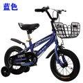 Детский велосипед горный велосипед шоссейный велосипед 12-дюймовый стальной двойной дисковый тормоз для детей велоспорт