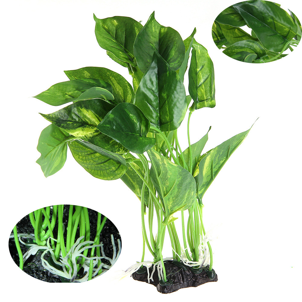1pc Plastic Aquarium Plants Decoration Aquarium Decor Artificial Plant Grass Fish Tank Fake Plant Flower 13-28cm High Catalogues Will Be Sent Upon Request Fish & Aquatic Supplies