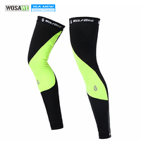 WOLFBIKE 2015 New Mountain Bike Cycling Leg Warmers Winter Ciclismo Bicycle Cycling Leggings 2 Colors For