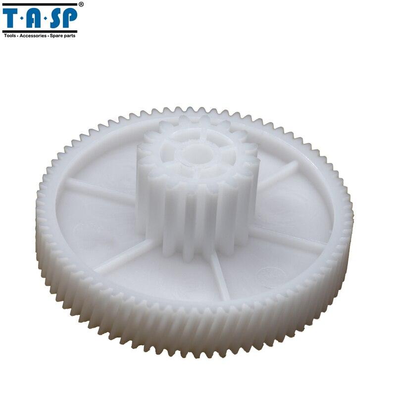 2 قطعة التروس قطع الغيار ل مفرمة اللحم البلاستيك المفرمة ترس بنيون PLR020 ل بولاريس PMG 1605,1805 ، 2005 Maxwell المطبخ