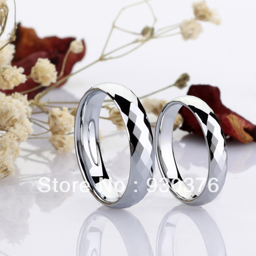 Free Shipping And Engraving Design You Own Tungsten Wedding Bands Sets Weeding Ring In Rings From Jewelry Accessories On Aliexpress