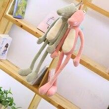 80/100 Cm Adorable Stuffed Animal Crocodile Plush Toy Alligator Cotton Pillow Cushion For Children Climbing Practice