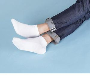 Image 4 - Xiaomi 365wear male breathable socks Spring and summer Antibacterial socks Soft and comfortable Men short Socks