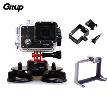 Mount Customary Protecting Housing Sprint Body+Triple Suction For Gitup Git1 Git2 Sports activities Motion Video Cameras Equipment