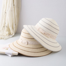 INMAN 2019 Korean England Sweet Girl Style Round Big Brim Fashion Solid Color Women Hat