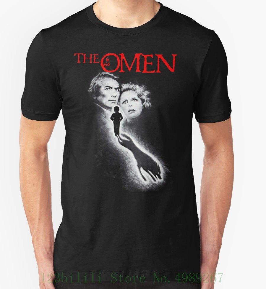 The Omen T Shirt 1970's Movie Film Horror Retro Vintage Birthday Present Hot Selling 100 % Cotton