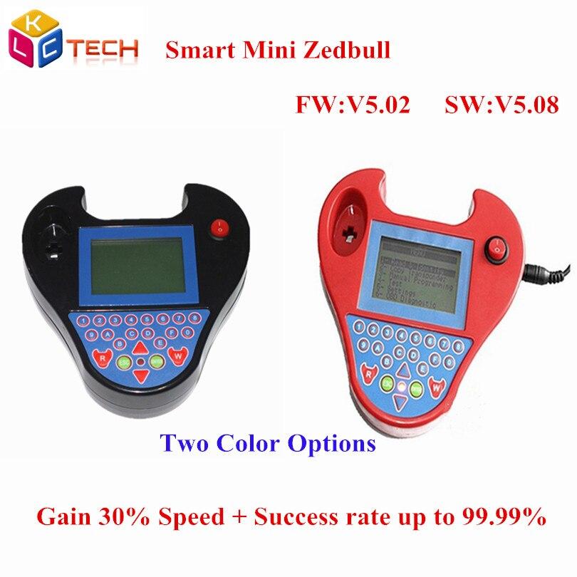 imágenes para Lo nuevo de Super Smart Mini ZedBull V508 Transpondedor de Programación de la Llave Del Coche Mini Zed bull No Tokens Limitación Copia de Chip Pin Leer código