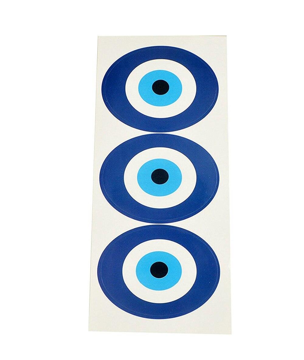 2017 New Feng Shui 2PCS Evil Eye Sticker W Fengshuisale Red String Breacelet W2096