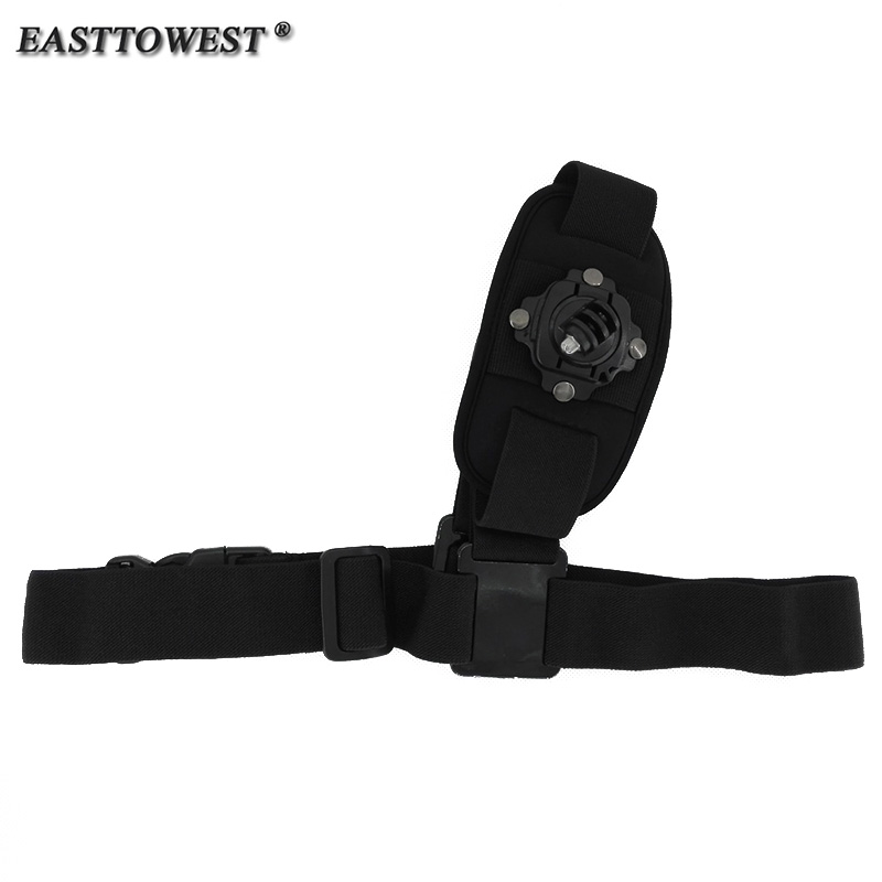 Easttowest Shoulder Belt Single Shoulder Strap Mount Chest Harness Belt Adapter For Go Pro Hero 4 3 3+ 2 HD SJ4000 Xiaomi Camera