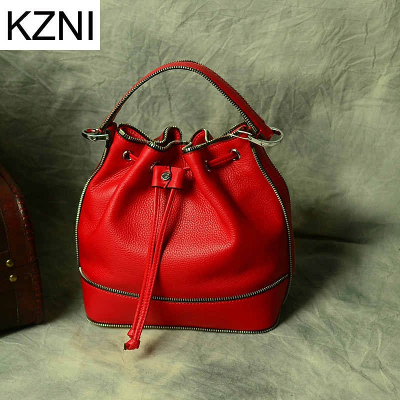KZNI woman bag  luxury handbags women bags vintage designer crossbody bags for w