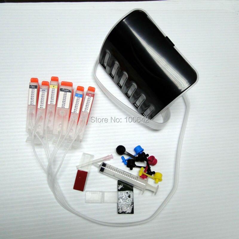 CISS ink cartridge PGI-570 CLI-571 PGI-570XL CLI-571XL with chip for Canon PIXMA MG5750 MG5751 MG5752 TS9050 TS9055 TS8050 full ink 5pcs ink cartridge pgi 425 cli 426 for canon pixma mg5240 mg5140 ip4840 ix6540 ip4940 mg5340 mx894 mx884 mx714 ix6540