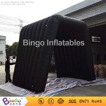Черный надувной туннель 3.5*3.5*3.5 М/черные надувные туннель/события туннель надувные игрушки палатки