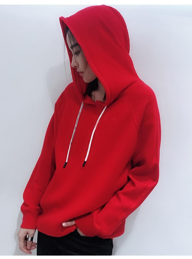 Freely Womens Long Sleeve Comfort Zip-up Hoodie Pullover Top Sweatshirt