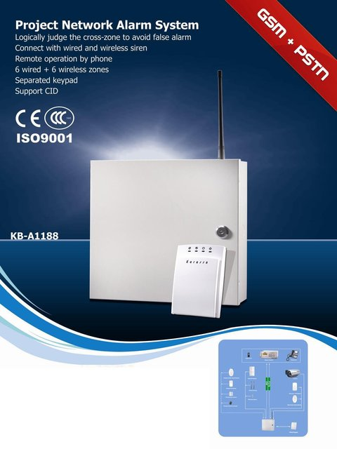 Network alarm system   GSM & pstn industrial Security systems   wireless and wired alarm host   retail and wholesale security