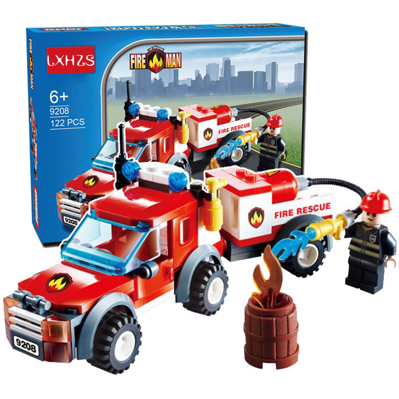 122pcs Fire Rescue Series Water fire Car Emergency Fire Fireboat Truck Children Educational Assembled Toys Building Blocks Brick122pcs Fire Rescue Series Water fire Car Emergency Fire Fireboat Truck Children Educational Assembled Toys Building Blocks Brick