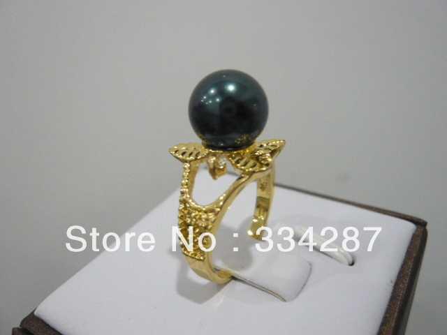 6 màu sắc! trắng/hồng/tím/black/red shell trân/xanh ngọc bích/coral flower ring A1012