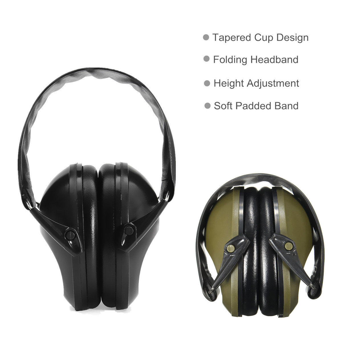 Safurance Anti-noise Ear Muff Hearing Protection Soundproof Shooting Earmuffs Earphone Noise Redution Workplace Safety