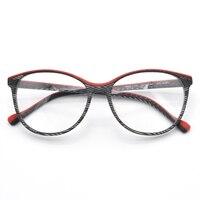 Handmade Optics Glasses Frame For Multicolor Acetate Eyeglasses