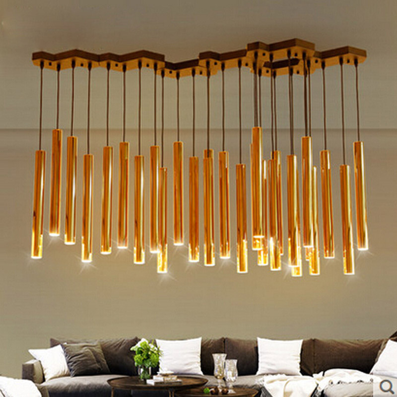 Aliexpress Com Buy Zyy Modern Gold Led Chandelier Nordic