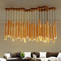 Z Modern Gold Led Chandelier Nordic Fashion Personality Lighting Fixture For Restaurant Bar Designer Bedroom Livingroom