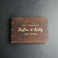 Livro de visitas personalizado casamento rústico livro de hóspedes madeira personalizado gravado livro de convidados casamento álbum presente para o casal