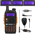 Baofeng GT-3TP Mark III Kit 1/4/8W , + Orginal Baofeng Remote Speaker, + USB Programming Cable