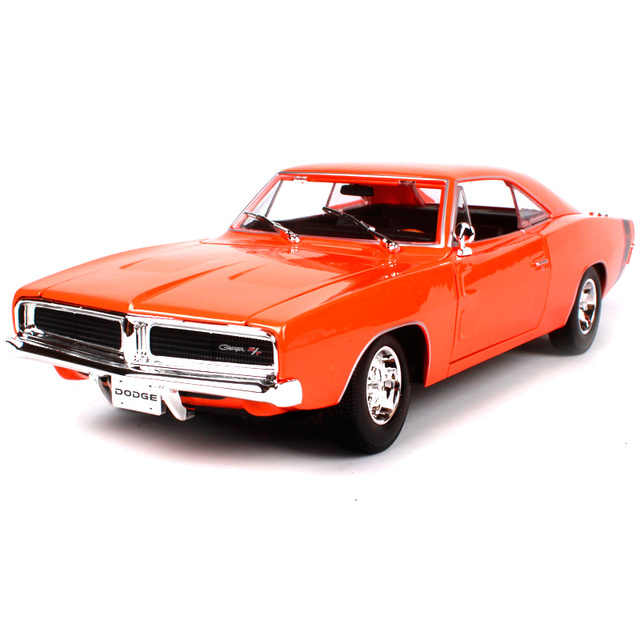 Maisto DODGE Charger RT Muscle Old Car Model Diecast - Old model cars