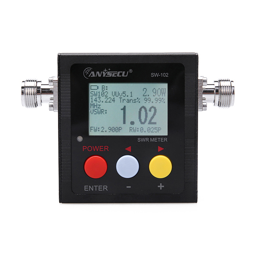 Digital Power & SWR Meter SW-102 SW102 VHF/UHF 125-520 Mhz SW102 For mobile radio KT-8900 KT-7900D KT-8900D TransceiverDigital Power & SWR Meter SW-102 SW102 VHF/UHF 125-520 Mhz SW102 For mobile radio KT-8900 KT-7900D KT-8900D Transceiver