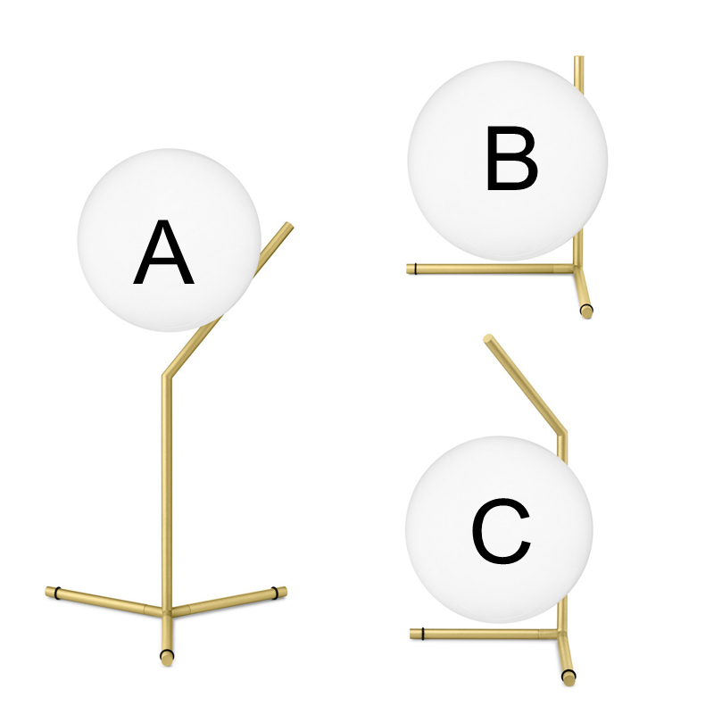 Modern Bjornled Table Light G9 lamp creative White glass lampshade table lamp simple light office lamps personality decoration