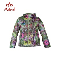Astrid Hot Sale Womens Large Size Hooded Coat Ukraine Style Slim Overcoat Female Spring Autumn Outerwear
