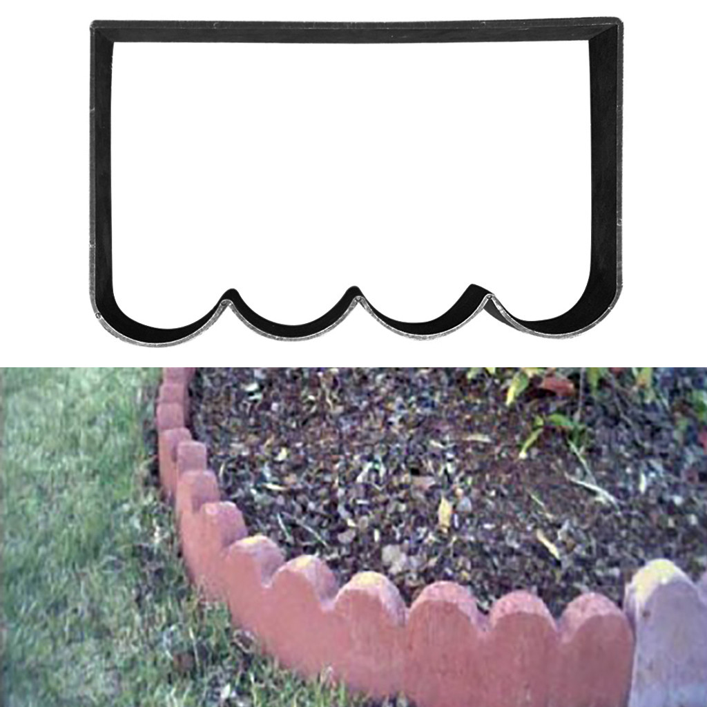 Image 4 - Path Maker Mold 2019top Paving Mold Driveway Patio Stepping Stone Pavement Paver Path Maker DIY g90529-in Paving Molds from Home & Garden