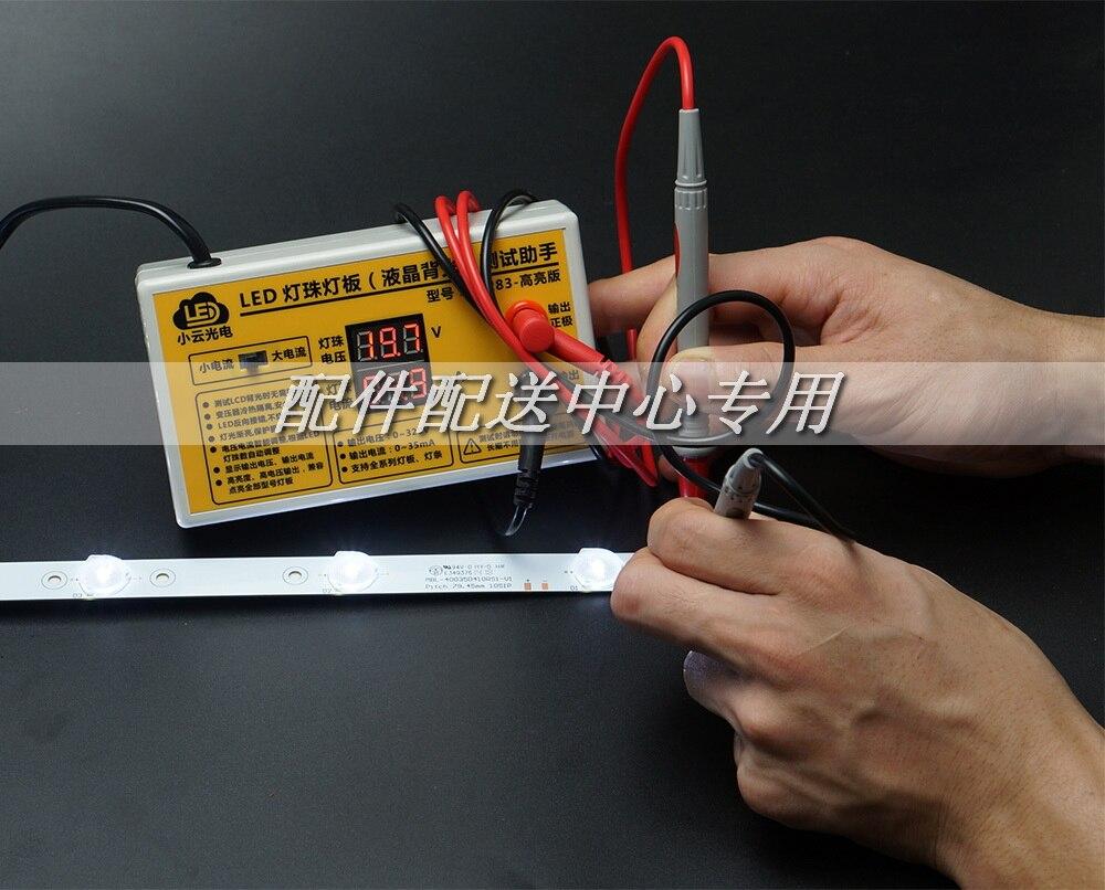 Image 5 - Тестер светодиодной подсветки для телевизора 0 320 в, тест полоски со светодиодным индикатором тока и напряжения для всех светодиодов, вилка стандарта СШАtool tooltool ledtools display -