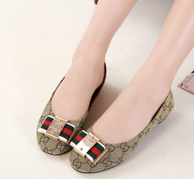 0fc722289 Brand Designer Ballet Flats Shoes Woman Sapatos Fashion New 2015 Round Toe  Casual Ballerina Shoes Size 35~43 Flats Single shoes