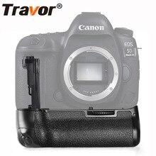 TRAVOR захват Вертикальный Аккумулятор для Canon 5D Mark IV 5D4 DSLR Камера работать с LP-E6N LP-E6 батарея As BG-E20