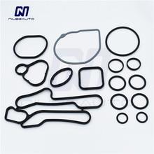 Комплекты для ремонта масляного охладителя двигателя NIUBEAUTO прокладки для Opel Astra J H Corsa D E 1,6 Turbo 55355602 55593190 55582569 55355699