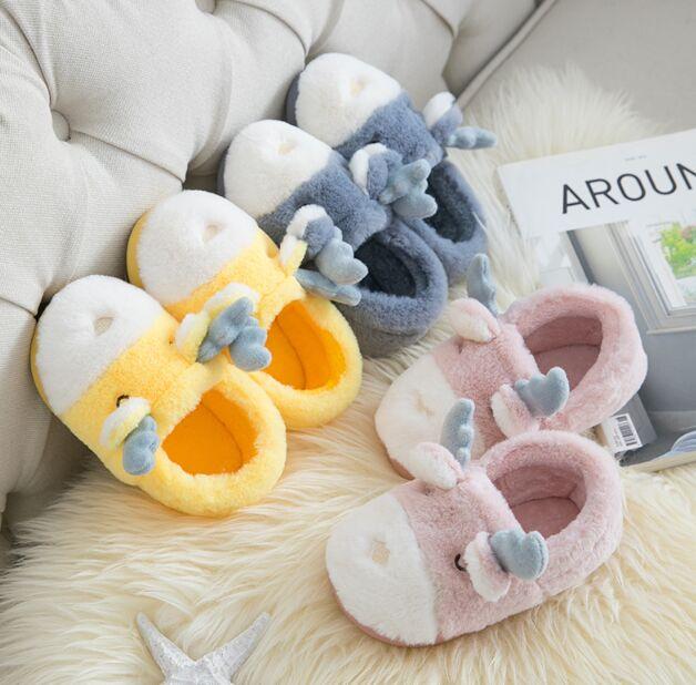 casa de inverno sandálias seguras e confortáveis