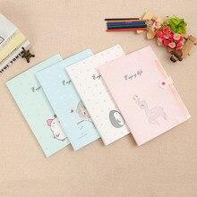 5 pcs 32cm*25cm Lovely Cartoon File Folder Test Papers A4 Large Capacity Multilayer Student Stationery Document Bag Envelope bag