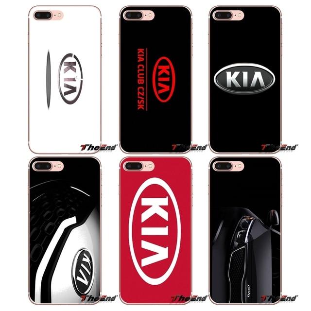 22aecad8dae Kia logo coche coreano marcas funda de teléfono suave para iPhone x 4 4S 5  5S ...