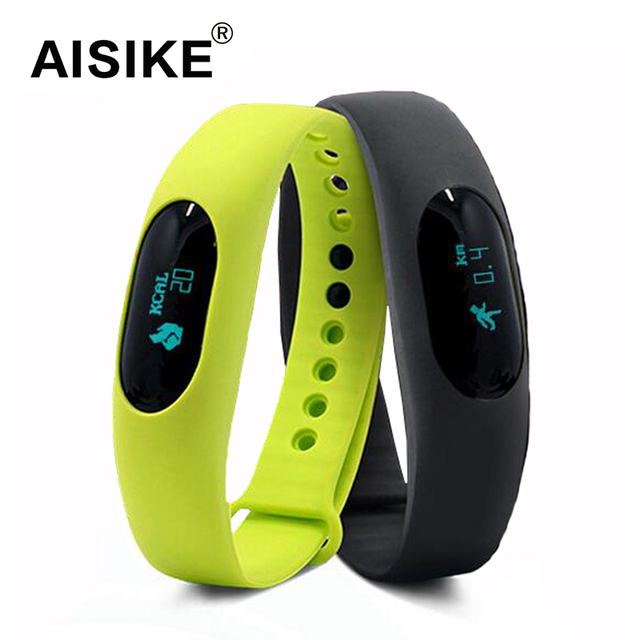 Sport Fitness Smart Bracelet Wristband BL05 For Android IOS Smartphone Bluetooth Running Pedometer Fitness Tracker Bracelet
