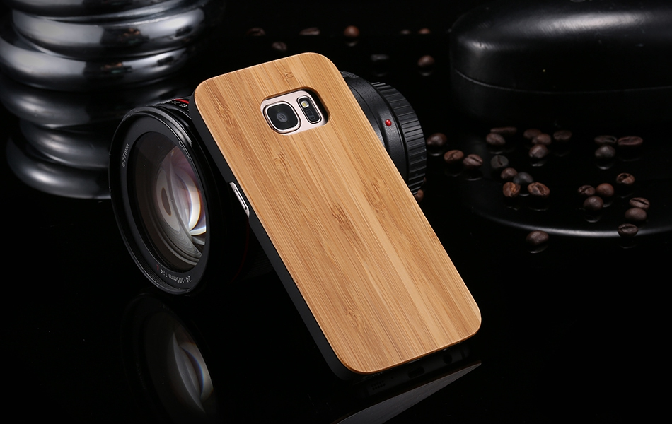 For Samsung Galaxy S8 Plus Real Wooden Case For Samsung S8 Galaxy S7 S6 Edge Back Cover (13)