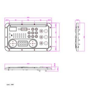 Image 5 - LCD AAC Âm Thanh Màn Hình MP3 Mô đun FLAC USB TF BASS MICPHONE XLR LYRIC Trộn Consonle Bluetooth AUX TRS ĐIỆN THOẠI Decording borad