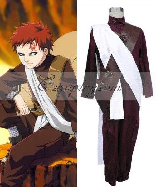Naruto Gaara 2nd Cosplay Costume Set E001