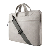 Cheap Felt Laptop Sleeve For Waterproof Case Protective Shell Notebook 11 Inches Computer Bag Gray