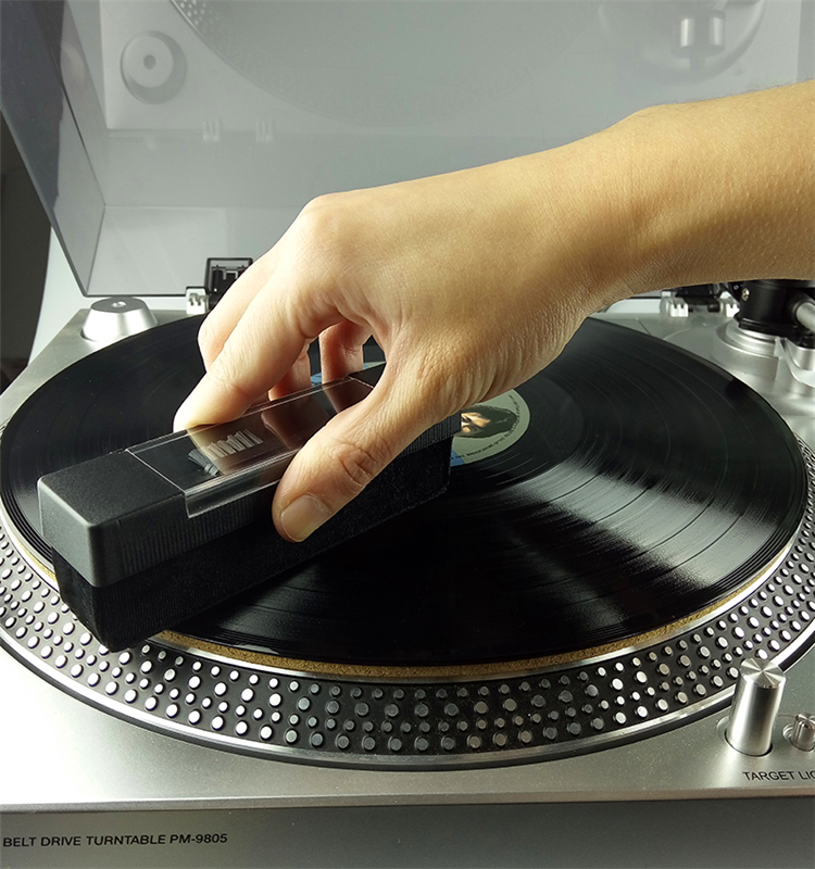 Anti-Static Velvet Brush for CD/LP Vinyl Phonograph Turntable Player Accessories