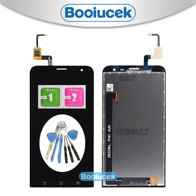 High Quality 6.0'' For ASUS Zenfone 2 Laser ZE601KL Z011D LCD Display Screen With Touch Screen Digitizer Assembly + Tool