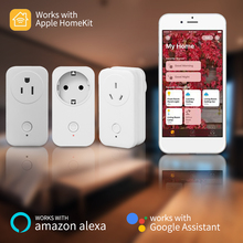 Timethinker умный дом Wi-Fi штекер Homekit розетка для Apple Homekit Siri Alexa Google Home AU UK США ЕС розетка приложение дистанционного управления